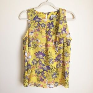 Anthropologie | HD in Paris Sungarden Ruffle Tank